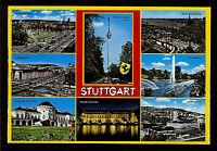 POST CARD GERMANY Gruss Aus STUTTGART Multi-view Postcard Kruger #939.104
