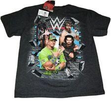 WWE John Cena And Others Shirt Small Gray Big Graphic Free Shipping