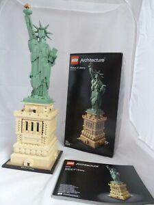 Lego Architecture 21042 Statue Of Liberty Complete