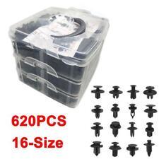 620Pcs 16 Size For All Ford Trim Clip Car Retainer Panel Bumper Fastener Kit Set