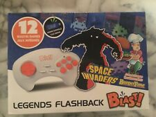 Atgames Legends Flashback Blast! Space Invaders/BurgerTime - 12 Built-In Games