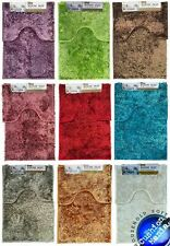 sparkle chenille Bath Set Pedestal Mat Sets Soft Luxury Bathroom Rugs Anti Slip
