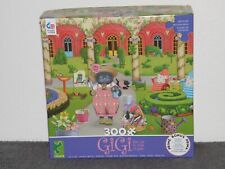"Ceaco 300 Pc Puzzle Gigi the Cat ""Gardening"""