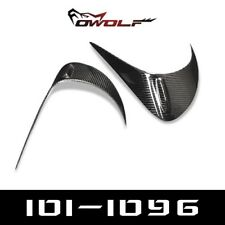 Carbon Fiber Tail Light Rear Eyebrows Eyelids Cover For Toyota GT86 Subaru BRZ