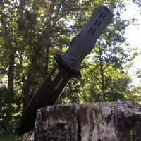 """8.5"""" Spring Assisted Open Folding Pocket Knife Military Bowie Tactical Combat"""