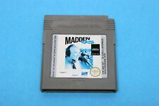 Nintendo gb Gameboy juego-Madden 95-solo módulo