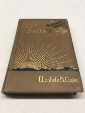 Boots And Saddles 1885 Elizabeth B. Custer