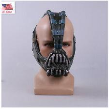 US SHIP Bane Mask Batman TDKR Helmet Hallowen Cosplay Masks Coser Props HOT