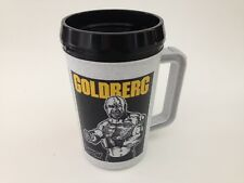 Vintage 90's Bill Goldberg 22 oz. Travel Mug 1998 WCW NOS WWE Pro Wrestling