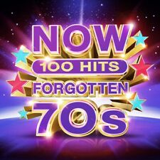 Now 100 Hits: Forgotten 70s - Various Artists (Box Set) [CD]