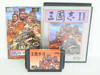 SANGOKUSHI II 2 ref/C Mega Drive Sega md