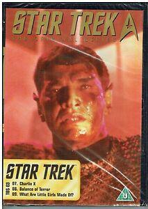 STAR TREK THE ORIGINAL SERIES TOS 03  DVD - FREE POST IN UK
