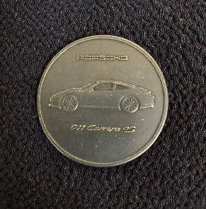 2013 PORSCHE 911 Carrera 4S Car Christophorus Calendar Coin Medal