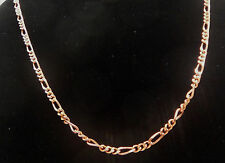 """NEW PURE Copper Figaro Chain link 24"""" Necklace Mod#cn011"""