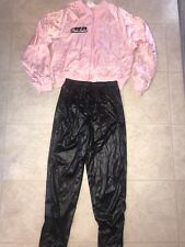 GREASE PINK LADIES ~ Women's Halloween Adult Costume Faux Leather ~ M