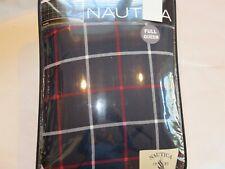 Nautica Tillington Windowpane Plaid 3P full queen comforter shams set