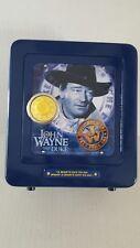 Vintage Safe with Mechanical Alarm Coin Bank Stamped Steel Toy Safe