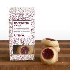 Raspberry Swedish Thumbprint Cookies by Unna Bakery (3.4 ounce)