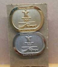 LOT OF 2 2010 VANCOUVER RICHMOND GOLD SILVER OLYMPIC WINTER GAMES PIN