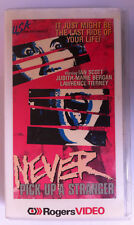 Never Pick Up A Stranger VHS USA Video Ian Scott Thriller Sleaze RARE Bloodrage