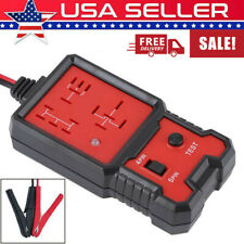 12V US Electronic Automotive Relay Tester For Cars Auto Go Battery Checker