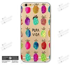 Ananas Pineapple Slim Soft Souple Case for Apple iPhone 7 Colorful Fruit Tendy
