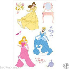 Disney Princess Foam 9 Stickers Belle, Cinderella, Sleeping Beauty