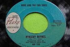 Rare Doo Wop 45: Nino And The Ebb Tides ~ Nursery Rhymes ~ Mr. Peeke 123