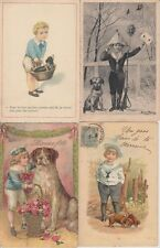 DOGS CHIENS 20 CPA (mostly pre-1940)