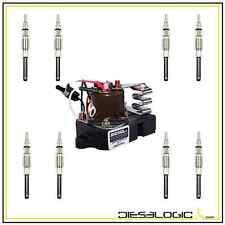 1988-94 FORD IDI 7.3L GLOW PLUG SET AND GLOW PLUG CONTROLLER 7.3 GLOW PLUG