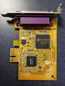 Dell G1FN2 25 pin PCie Parallel expansion card - Low Profile