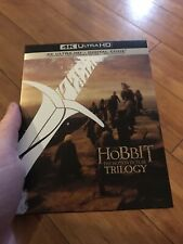 The Hobbit Trilogy 4K 6-Disc Theatrical & Extended Versions NO DIGITAL