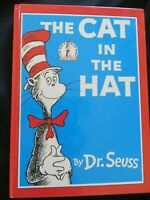 Dr Seuss Beginner Books The Cat in the Hat HB  1958 1st ed., OOP