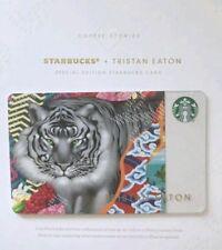 Starbucks 2018 Tristan Eaton Special Edition 🐅 Sumatra Coffee Stories gift card