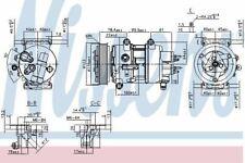 Nissens Compressors 89201    OE: 6453WQ