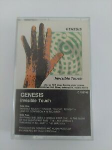 Genesis Invisible Touch Cassette Tape Phil Collins