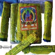 ॐ GEBETSFAHNEN Tibet Dalai Lama Nepal Goa Indien Inde Prayer Flags Hippie Ethno