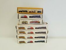 HO Scale Lot of 7 Assorted Bachmann Electric Trains Empty Boxes Used