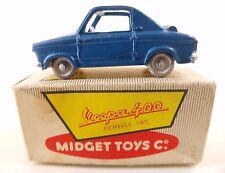 MIDGET Toys série B n° 12 Vespa 400 jamais joué en boite 1/43 mint in box
