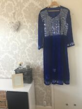 Vintage Afghan Velvet Dress In Good Condition 👍