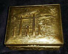 Silver Box China  debut XX,283 gm 306 gm with wood, 10x9x4 cm