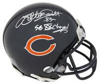 Willie Gault Signed Chicago Bears Riddell Mini Helmet w/SB XX Champs - SS COA