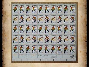 Scott 1695-1698 1976 Winter Olympics MNH 13 Cent 13c Sheet of 50 Stamps