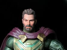 HEAD ONLY Marvel Legends Custom painted Head Unmasked Mysterio Jake