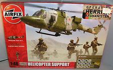 Airfix Kits modelismo a50122 Fuerzas Británicas Helicóptero SOPORTE + PINTURAS+
