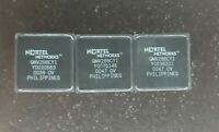 LOT 3 NORTEL NETWORKS COLD VINTAGE CERAMIC CPU FOR GOLD SCRAP RECOVERY