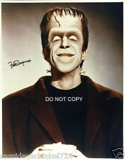 """Fred Gwynne from The Munsters as Herman TV Show 8x10"""" reprint Signed Photo RP"""