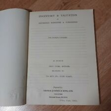 More details for craig house, montrose scotland household inventory & valuation t. justice & sons