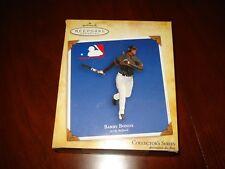 "BARRY BONDS ~ 2004 Hallmark Keepsake Ornament ""At the Ballpark"" NEW w/CARD"