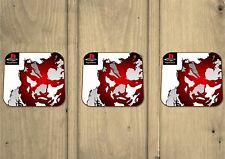Metal Gear Solid PS1 Game Coasters - Set Of 3 - Hardboard - Gifts - Gaming